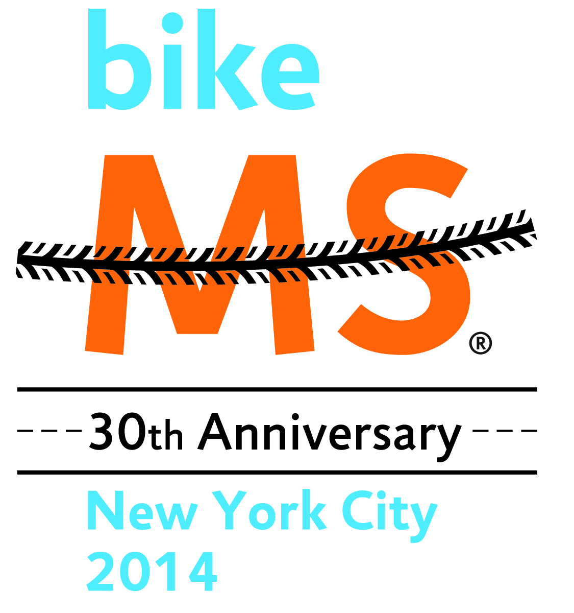 2015 Bike 30 Year Logo